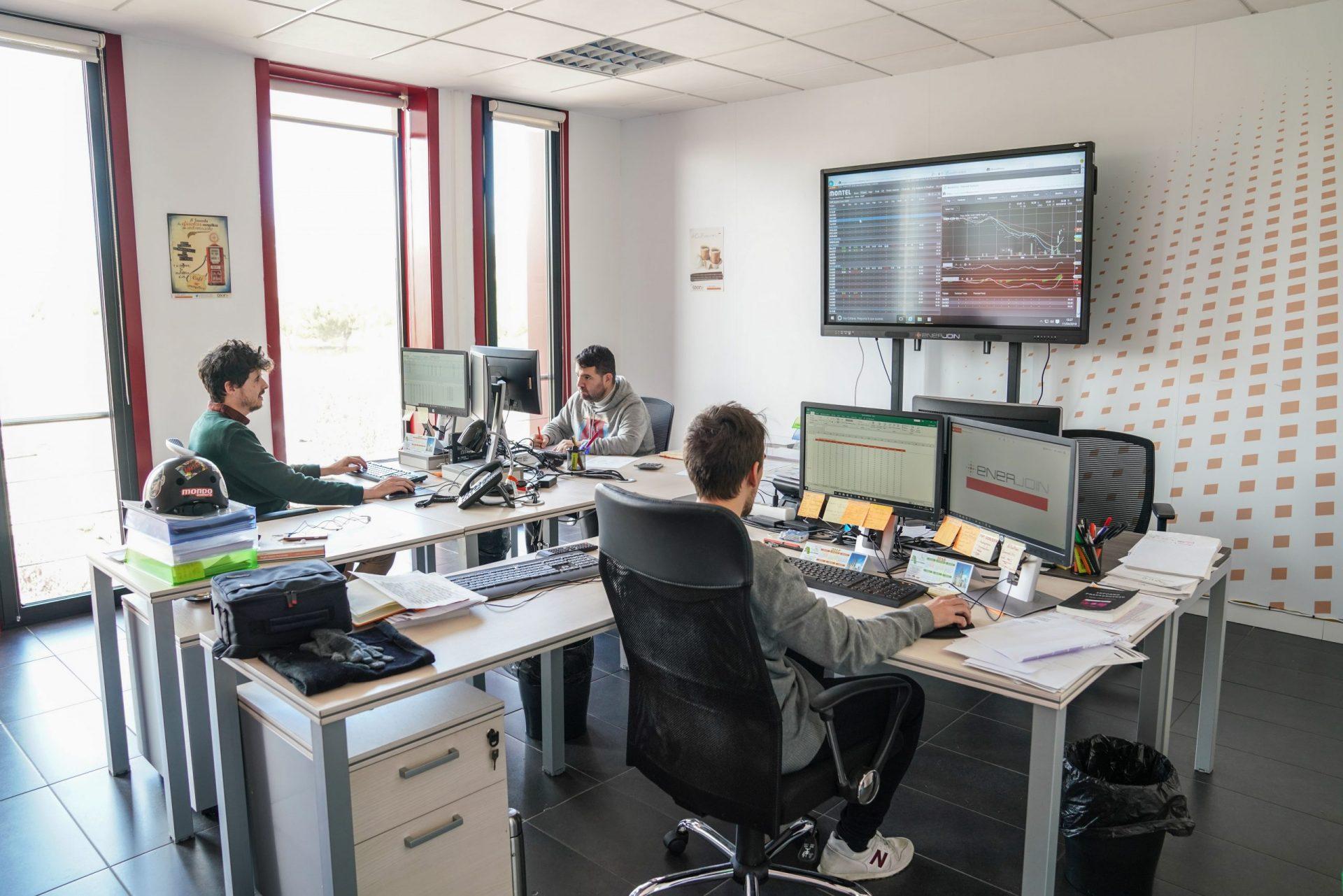 Programadores trabajando