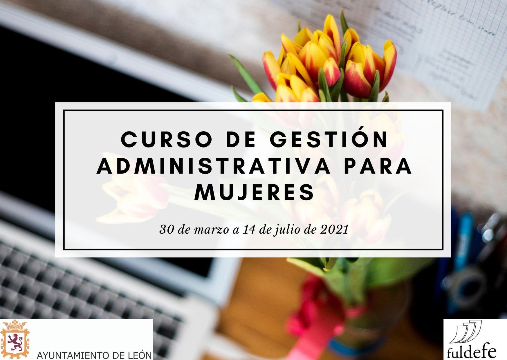 Cartel Administración Mujer