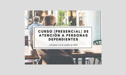 Curso (presencial) de Atención Sociosanitaria a personas dependientes en instituciones