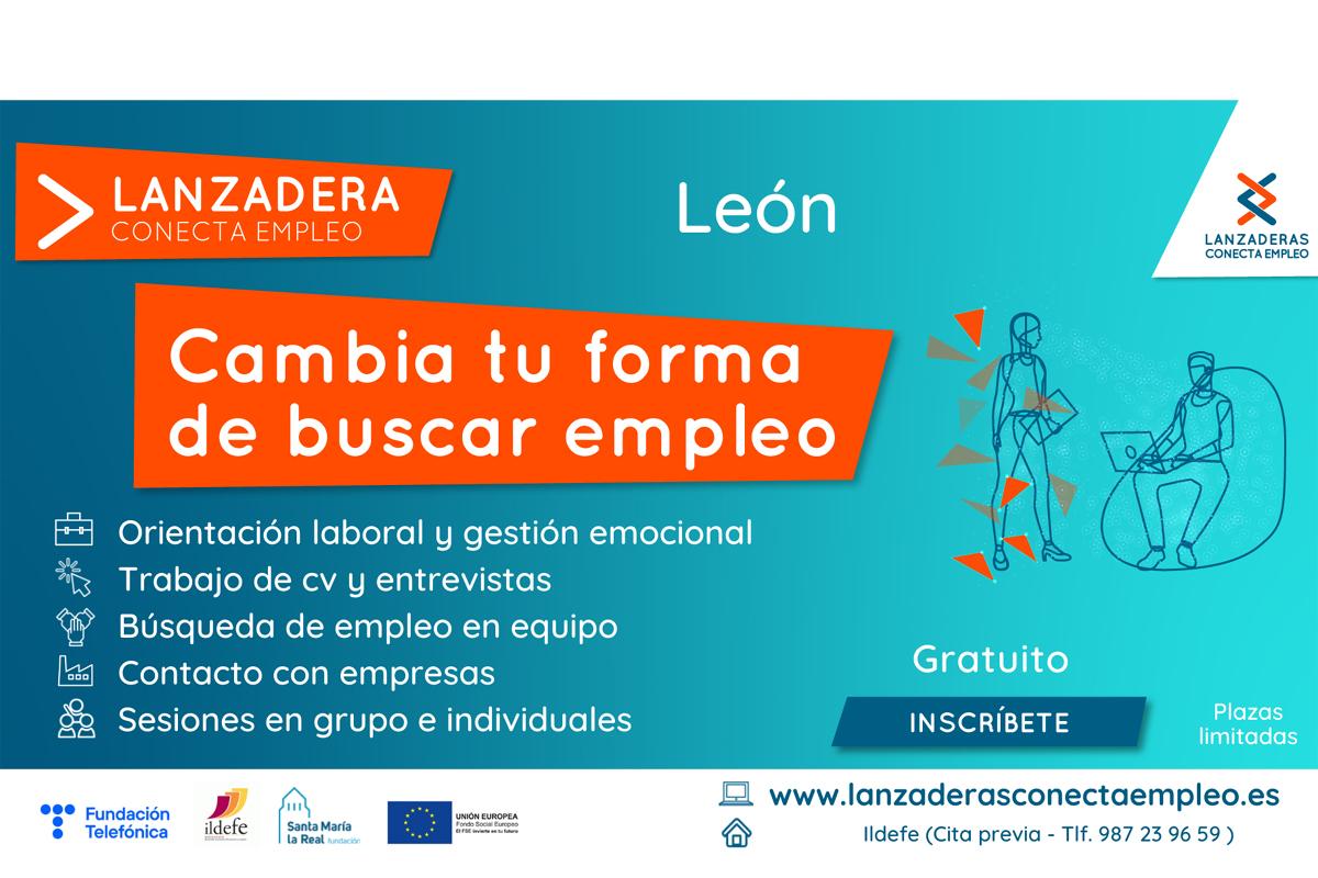 """Abierto plazo de inscripción en la nueva """"Lanzadera Conecta Empleo"""" de León"""